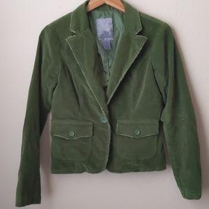 Bb Dakota Green Corduroy Jacket, L